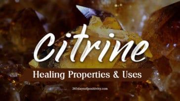 citrine healing properties