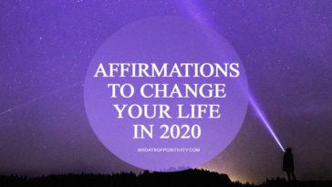 affirmations 2020