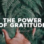 power of gratitude benefits