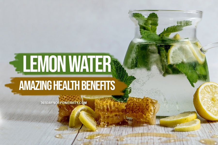 lemon water for weight loss health benefits