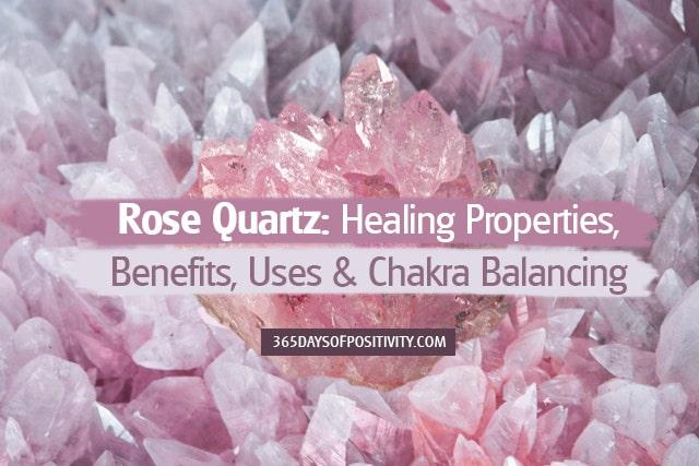 rose quartz healing properties