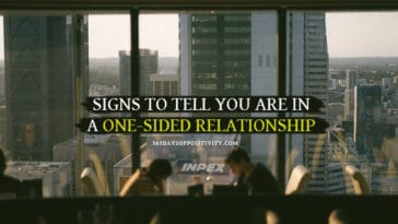 signs you are in a one-sided relationship