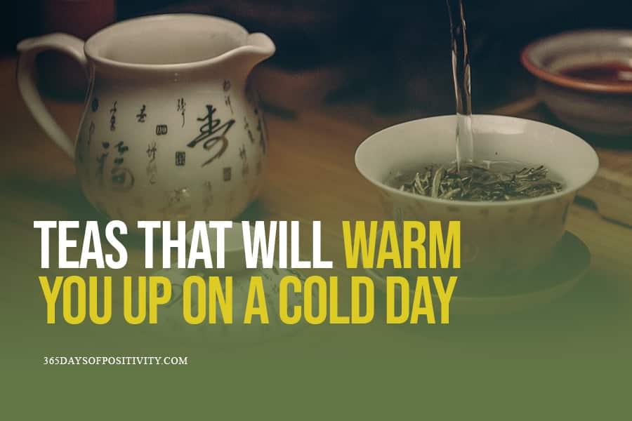 teas to warm you up