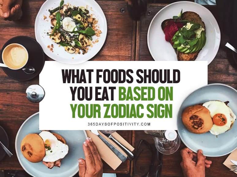 what foods should you eat based on your zodiac sign