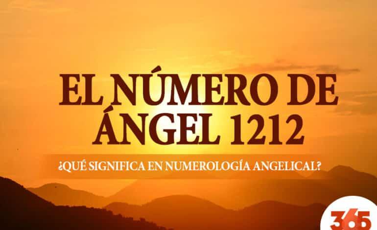 El número de ángel 1212: ¿Qué significa en numerología angelical?